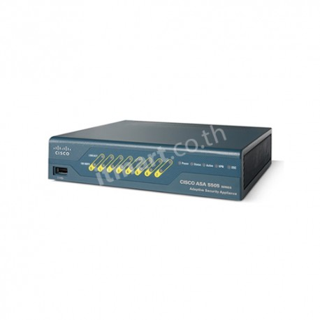 Cisco ASA 5505 Appliance with SW, 10 Users, 8 ports, 3DES/AES