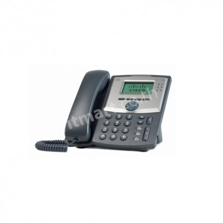 Cisco 3 Line IP Phone with Display and PC Port, UK Power Adapter (G3)