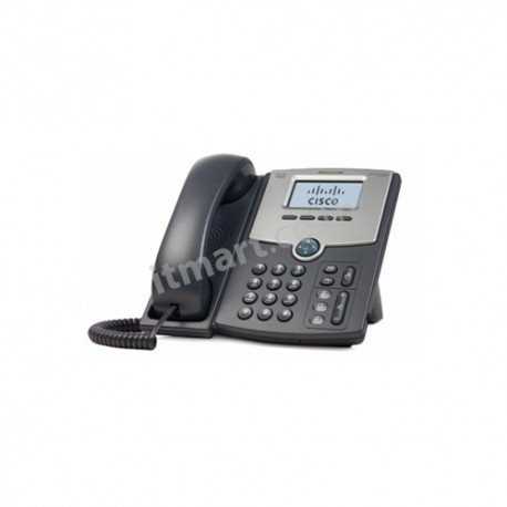 Cisco 1 Line IP Phone With Display, PoE, PC Port