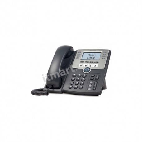 Cisco 12 Line IP Phone With Display, PoE and PC Port