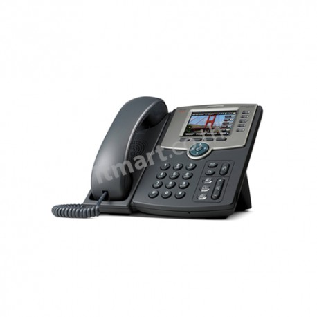 Cisco 5-Line IP Phone with Color Display, PoE, 802.11g, Bluetooth