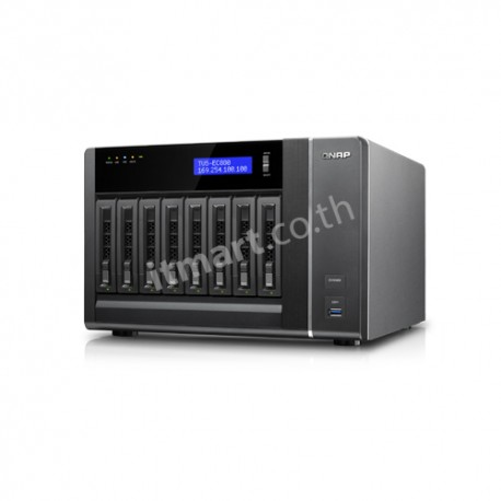 QNAP TVS-EC880 - NAS for Enterprise