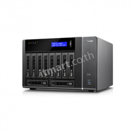 QNAP TVS-EC1080+E3 - NAS for Enterprise
