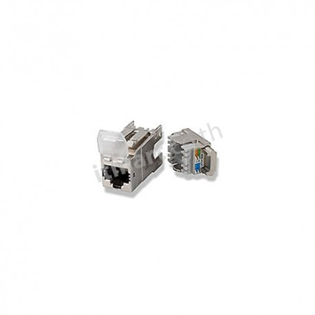TE CAT6A Shield RJ45 Jack (ตัวเมีย)