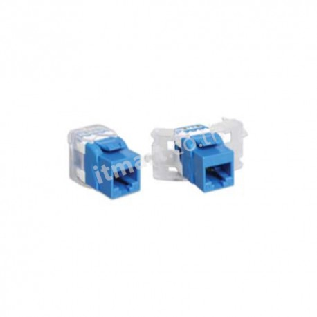 Link CAT5E Blue Jack, Slim, Tool Free