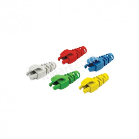 Link CAT6 Locking Plug Boot, สีขาว