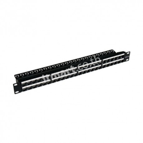 Link CAT6 High-Density Patch Panel 48 Port (1U) w/Management