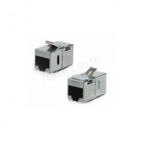Link CAT6A In-Line Coupler,Shield
