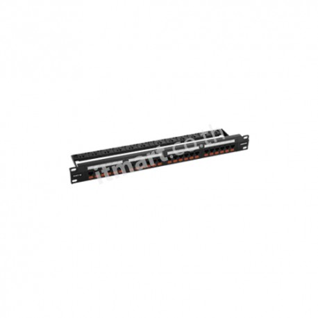 Furukawa UTP Patch Panel CAT 6, 24 Port, Fixed Panel-Loaded