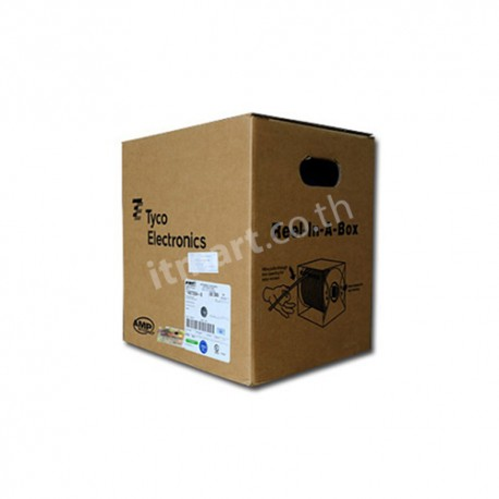 TE (AMP) CAT6 UTP Cable, 23 AWG, CMR