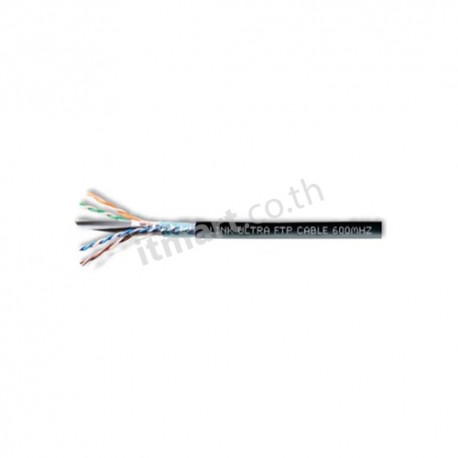 Link CAT6 F/UTP, PE, Outdoor w/Cross Filler, 23 AWG, CM (Single Jacket)