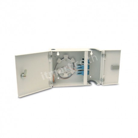 Link F/O 6-48F (4 Snap-In) Wall Mount Box, Unload