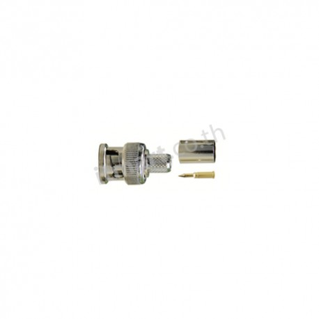 Link BNC PLUG RG 6/ 5C-2V, CRIMP Type