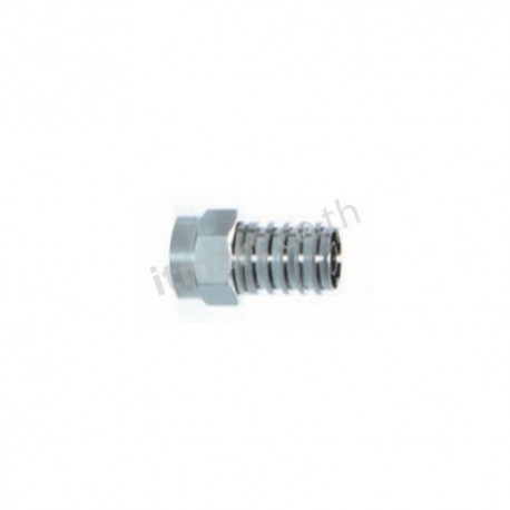 Link F-Type CONNECTOR for RG59, CRIMP TYPE