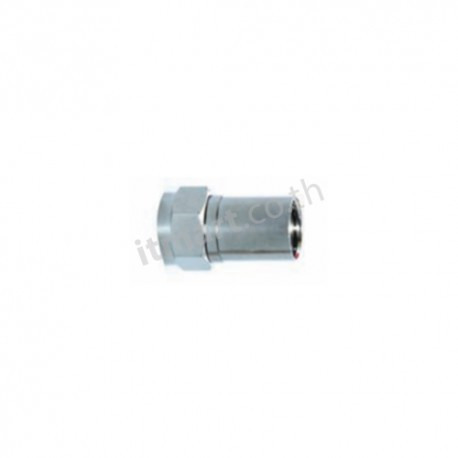 Link F-Type CONNECTOR for RG6, CRIMP TYPE