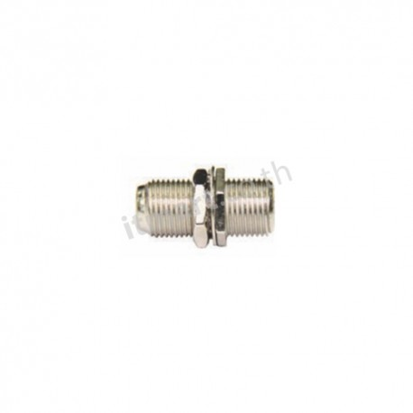 Link F-Type Splice Coupling, Wash + Nut