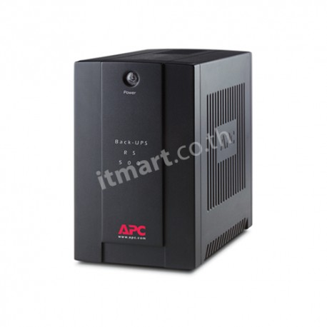 APC Back-UPS RS 500VA/300W, 230V without auto shutdown software