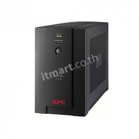 APC Back-UPS 950VA, 230V, AVR, Universal and IEC Sockets (แทน BX800CI-MS)