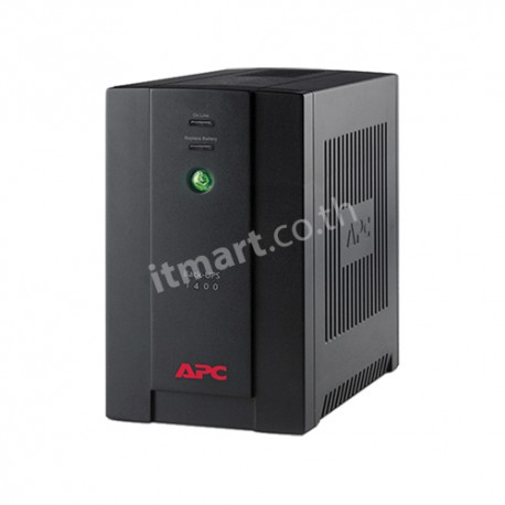 APC Back-UPS 1400VA, 230V, AVR, Universal and IEC Sockets (แทน BX1100CI-MS)