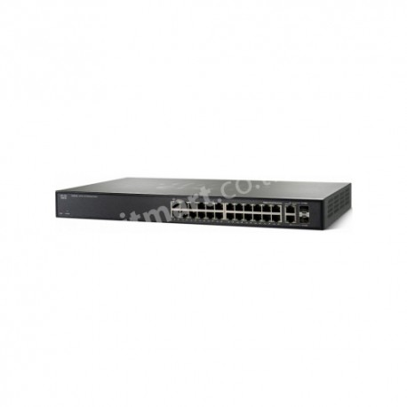 Cisco SF200-24 24-Port 10/100 Smart Switch