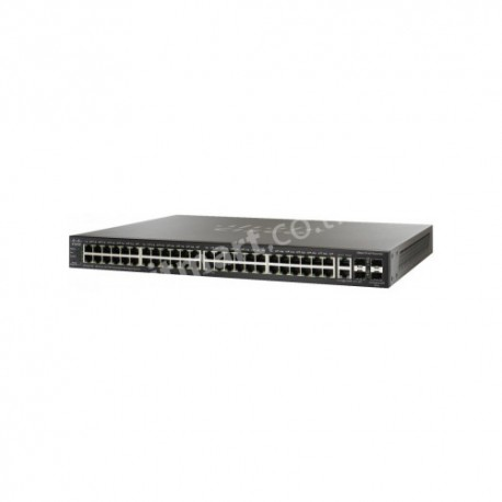 Cisco 48-port 10/100 Stackable Managed Switch with Gigabit Uplinks