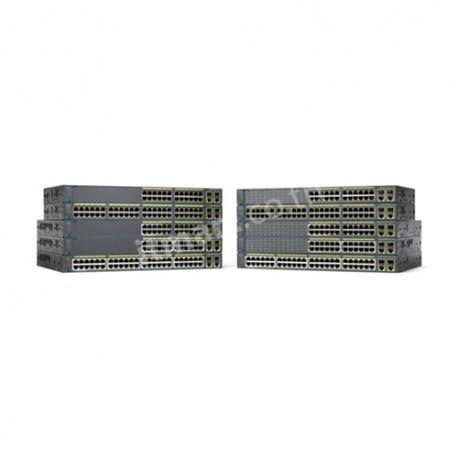 Cisco Catalyst 2960 Plus 24 10/100 (8 PoE) + 2 T/SFP LAN Lite
