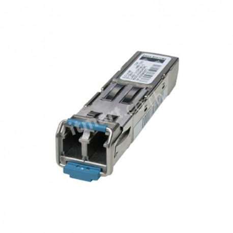 Cisco 1000BASE-LX/LH SFP transceiver module, MMF/SMF, 1310nm, DOM