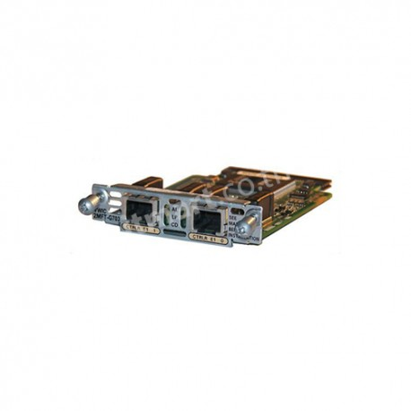 Cisco 2-Port 3rd Gen Multiflex Trunk Voice/WAN Int. Card - G.703
