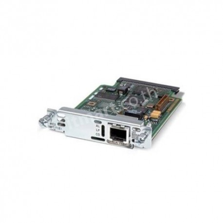Cisco 1-Port 3rd Gen Multiflex Trunk Voice/WAN Int. Card - T1/E1