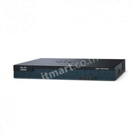 Cisco 1921 Modular Router, 2 GE, 2 EHWIC slots, 512DRAM, IP Base