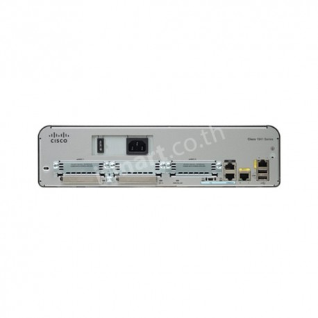 Cisco 1941 w/2 GE,2 EHWIC slots,256MB CF,512MB DRAM,IP Base